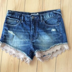 Free People Shorts | Color: Blue | Size: 25